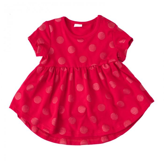 Детские платья и сарафаны Playtoday Платье для девочек Забавный кролик 188017