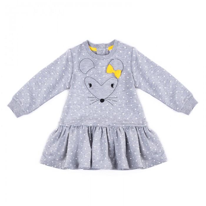 Детские платья и сарафаны Playtoday Платье для девочек Золотой сад 388030, Детские платья и сарафаны - артикул:576816
