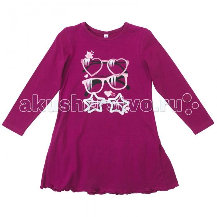 Детские платья и сарафаны Playtoday Платье для девочки Яркие штрихи 172071 платья playtoday платье текстильное для девочек