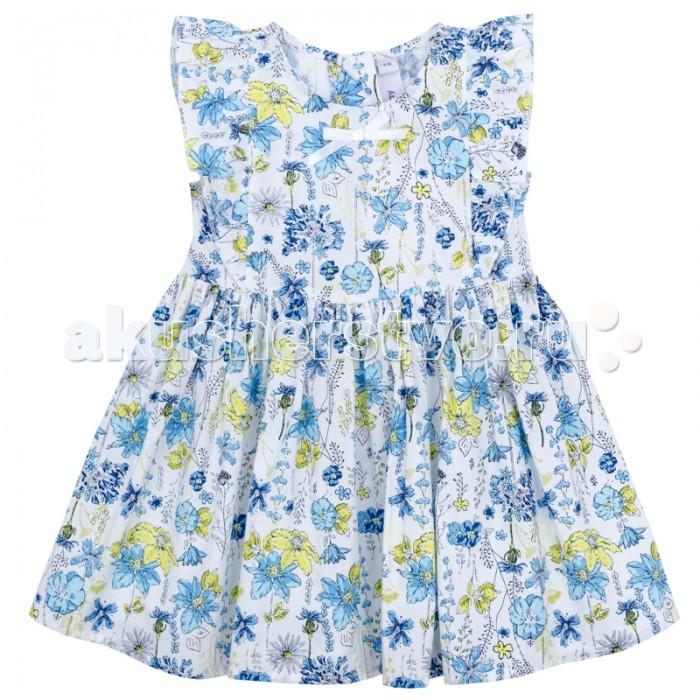 Детские платья и сарафаны Playtoday Платье для девочки Веселая улитка 178058 платья playtoday платье текстильное для девочек