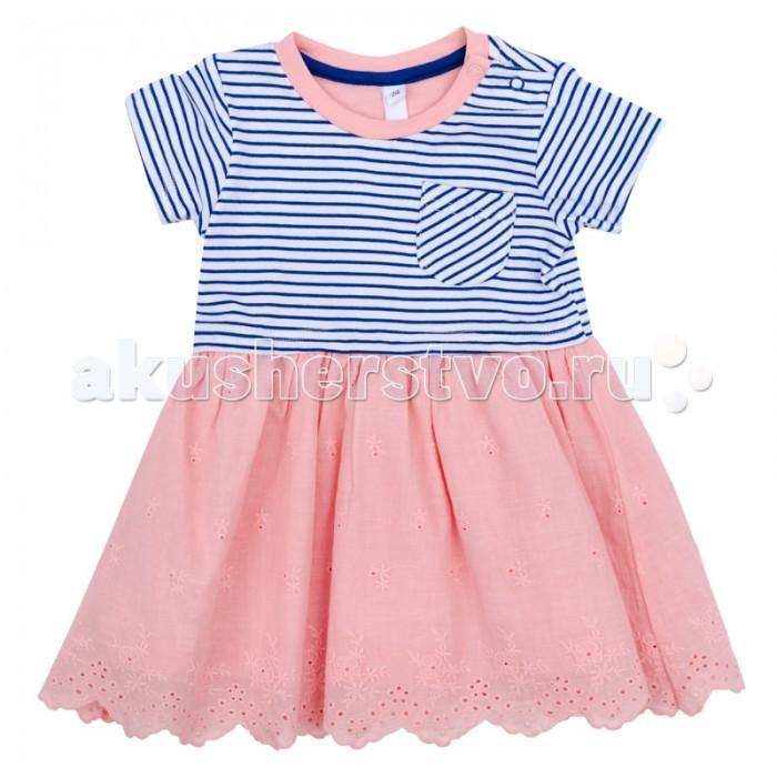 Детские платья и сарафаны Playtoday Платье для девочки Веселая улитка 178060 платья playtoday платье текстильное для девочек