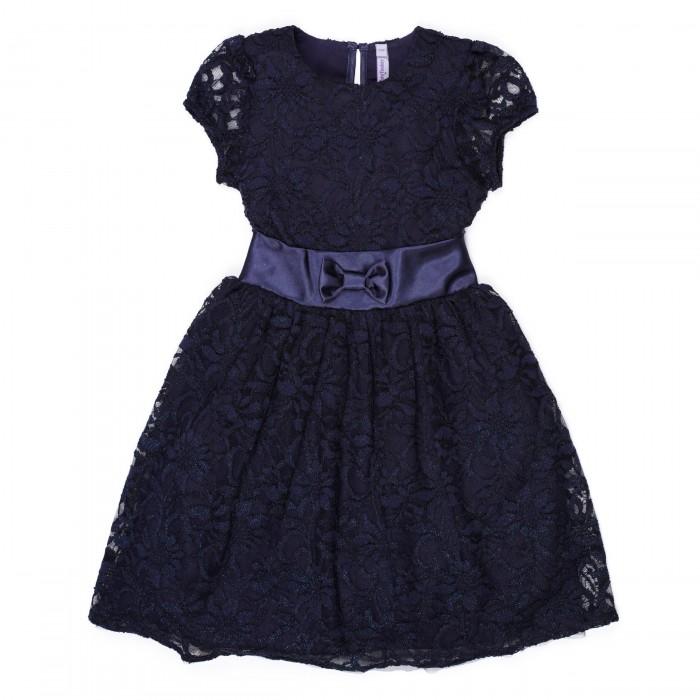 Playtoday Платье для девочки Новогодние огни 488002/482004