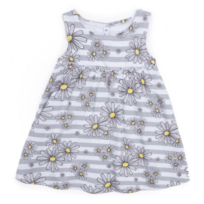 Платья и сарафаны Playtoday Платье для девочки Ромашковое лето 288003 детские платья и сарафаны playtoday платье для девочки летний букет 982002