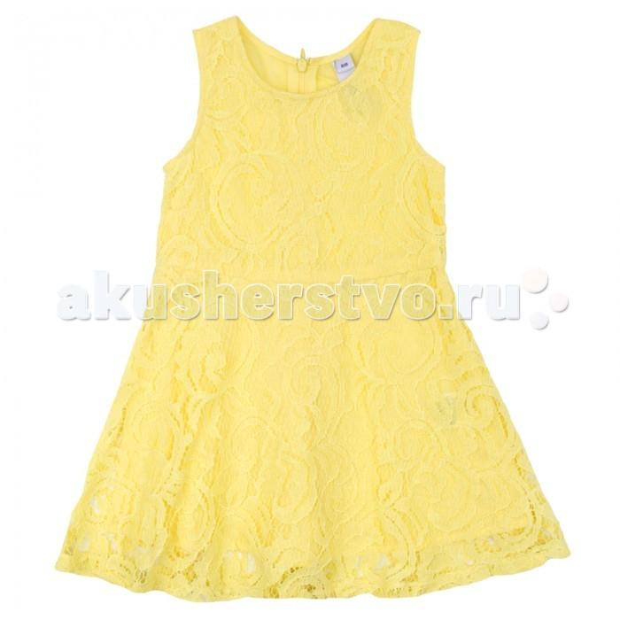 Детские платья и сарафаны Playtoday Платье для девочки Васильковое лето 172112 платья playtoday платье текстильное для девочек