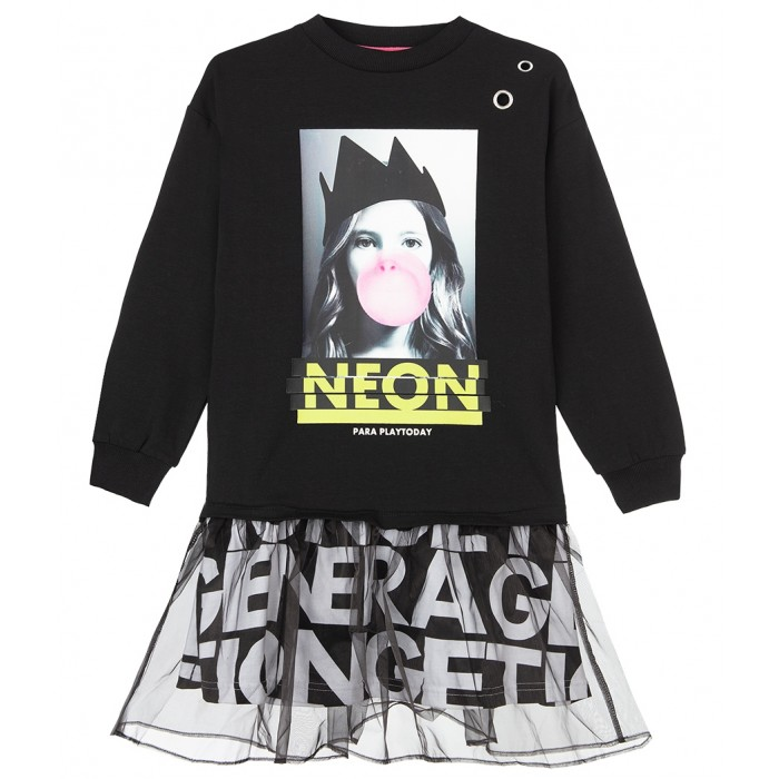 Playtoday Платье Neon tween girls 32021081
