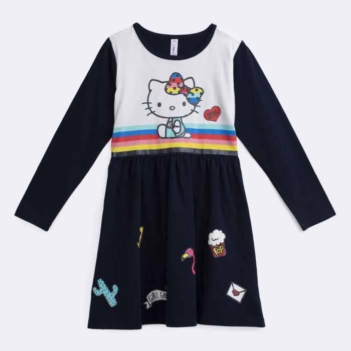 Купить Платья и сарафаны, Playtoday Платье трикотажное для девочек Искорка 692003