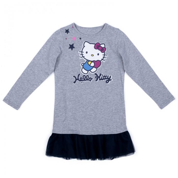 Детские платья и сарафаны Playtoday Платье трикотажное для девочек Клюквенный десерт 572154