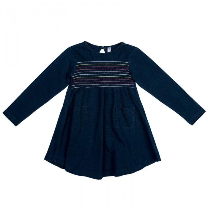 Детские платья и сарафаны Playtoday Платье трикотажное для девочек Осеннее настроение 372073