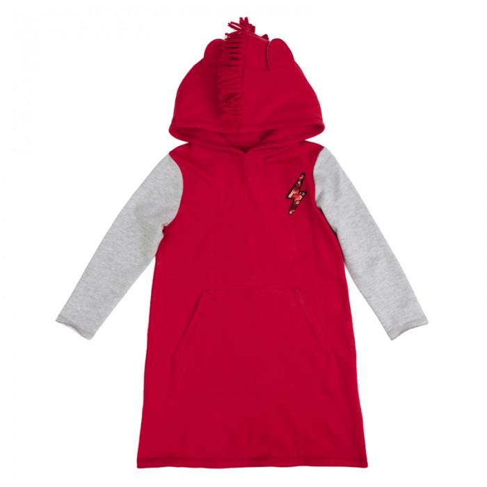 Детские платья и сарафаны Playtoday Платье трикотажное для девочек Рок-принцесса 182016