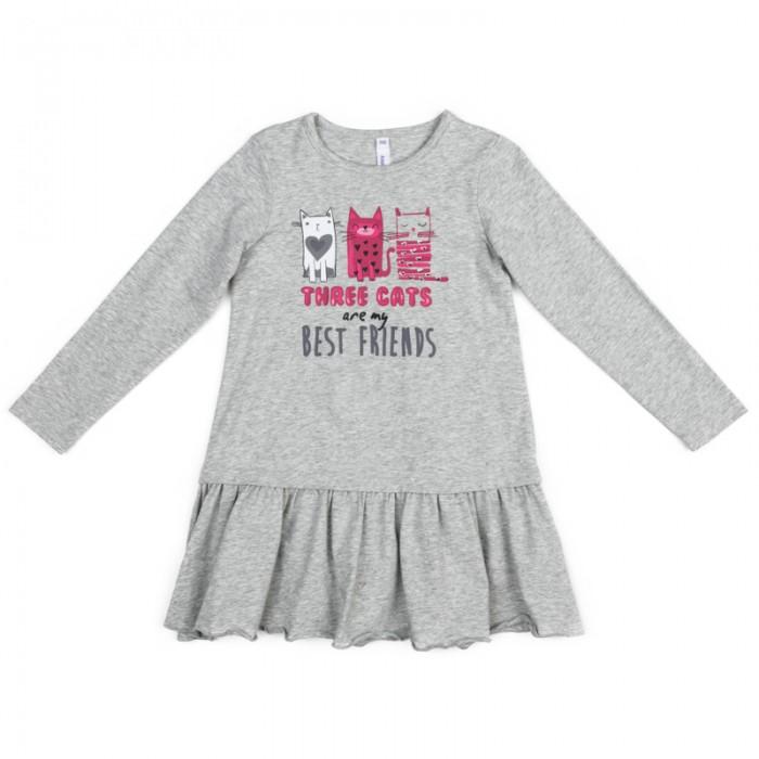 Детские платья и сарафаны Playtoday Платье трикотажное для девочек Я - принцесса 372023 детские платья и сарафаны playtoday