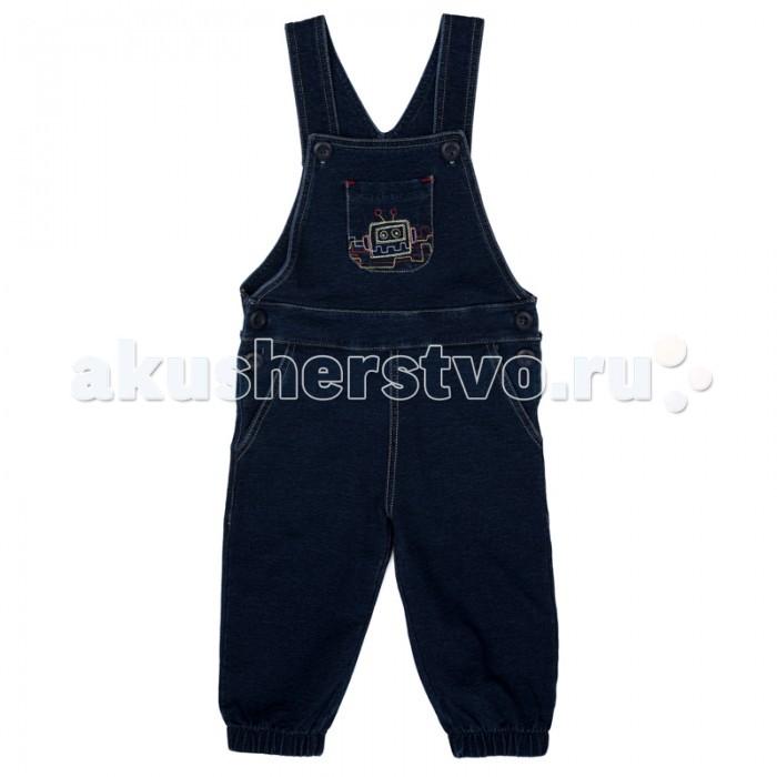 Детская одежда , Комбинезоны и полукомбинезоны Playtoday Полукомбинезон детский текстильный для мальчиков 377014 Веселый алфавит 377014 арт: 367578 -  Комбинезоны и полукомбинезоны