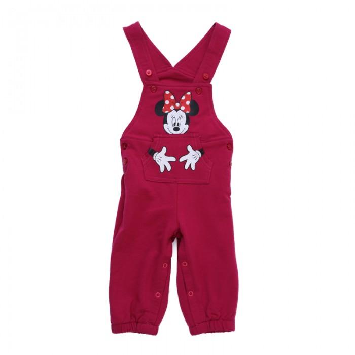 Брюки, джинсы и штанишки Playtoday Полукомбинезон детский трикотажный для девочек Флоранс 688806