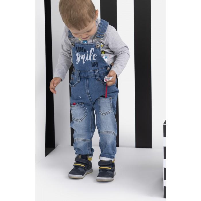 Купить Брюки и джинсы, Playtoday Полукомбинезон для мальчика Free style 397116