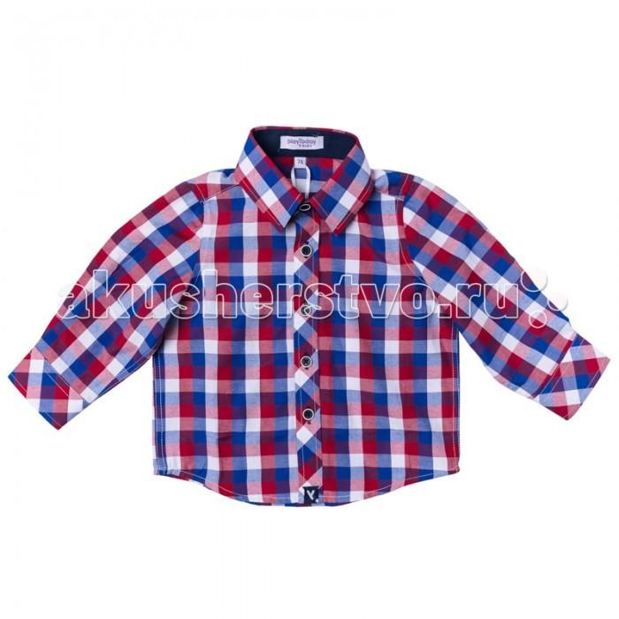 Блузки и рубашки Playtoday Рубашка для мальчика Юный чемпион 177007