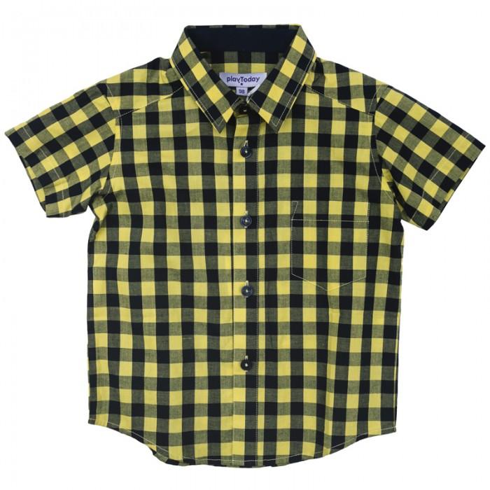 Блузки и рубашки Playtoday Рубашка для мальчика Сафари парк 171104