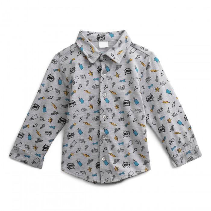Купить Рубашки, Playtoday Рубашка для мальчиков Весельчак 197024