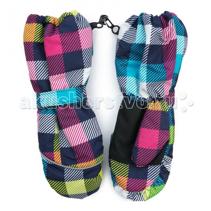 Варежки, перчатки и шарфы Playtoday Рукавицы текстильные для девочек Первая победа 379019 меховые рукавицы из овчин