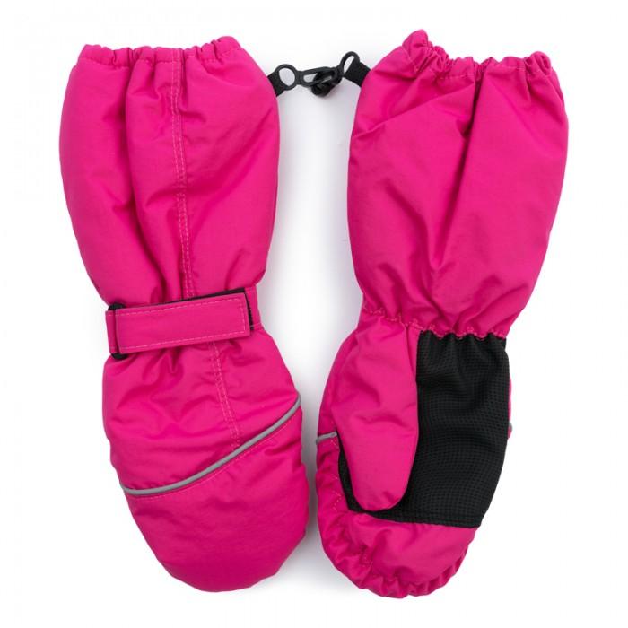 Варежки, перчатки и шарфы Playtoday Рукавицы текстильные для девочек Первая победа 379020 меховые рукавицы из овчин