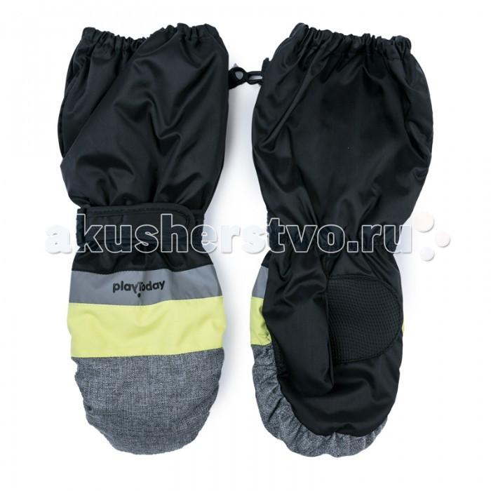 Варежки, перчатки и шарфы Playtoday Рукавицы текстильные для мальчиков Арктика 371128 меховые рукавицы из овчин