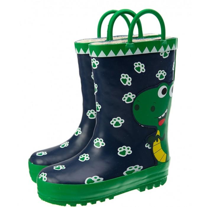 Резиновая обувь Playtoday Сапоги резиновые Dino cpace baby boys