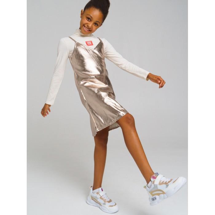 Платья и сарафаны Playtoday Сарафан текстильный для девочек 32121406 сарафан для девочек