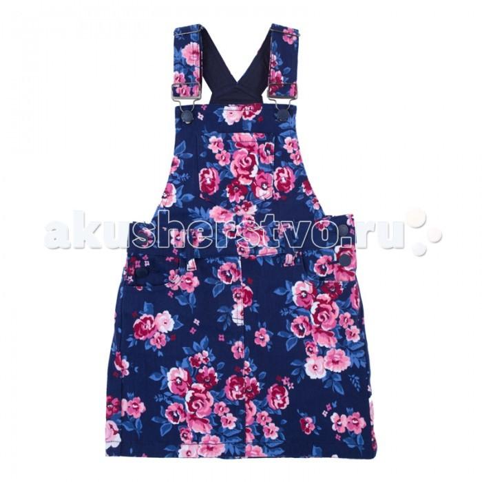 Детские платья и сарафаны Playtoday Сарафан текстильный для девочек Утро в Париже 182063 платья для девочек платья для девочек