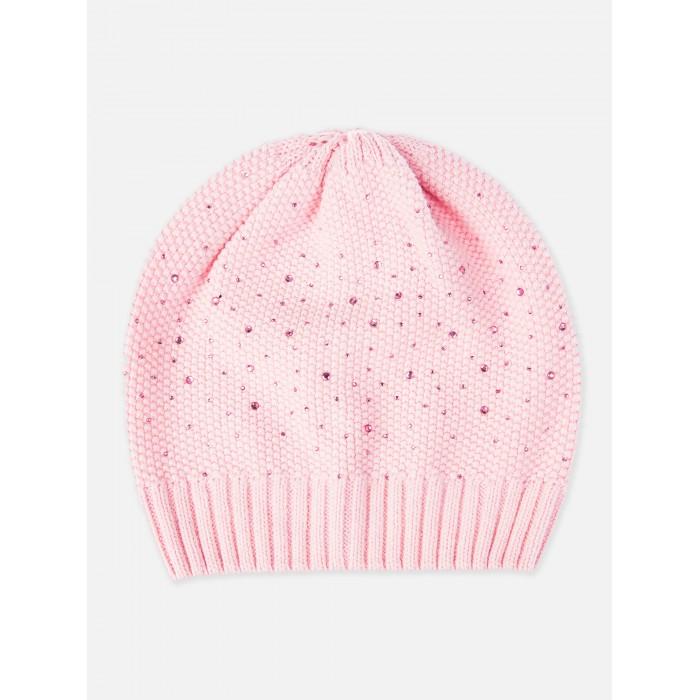 Шапки, варежки и шарфы Playtoday Шапка для девочки 120227309 шапки варежки и шарфы playtoday шапка для девочки 120222050