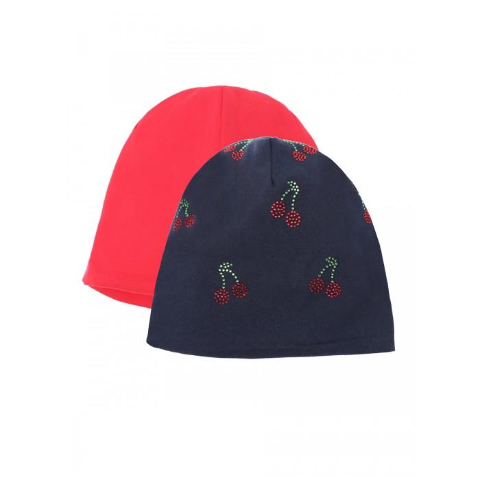 Купить Шапки, варежки и шарфы, Playtoday Шапка для девочки 120322037 2 шт.
