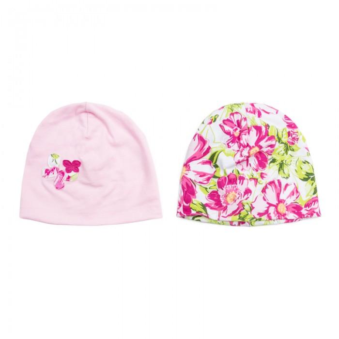 Шапочки и чепчики Playtoday Шапочка для девочек Мой цветочек 2 шт. 188870 шапочки и чепчики playtoday шапочка