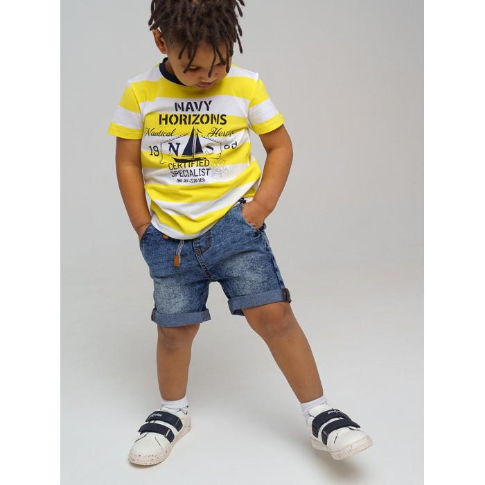 Купить Шорты и бриджи, Playtoday Шорты джинсовые для мальчика 12112534