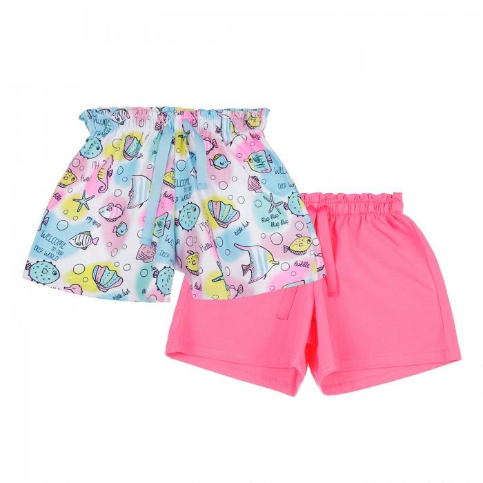 Фото - Шорты и бриджи Playtoday Шорты трикотажные для девочек 2 шт. 12122616 шорты и бриджи playtoday шорты для мальчика 2 шт 12112639
