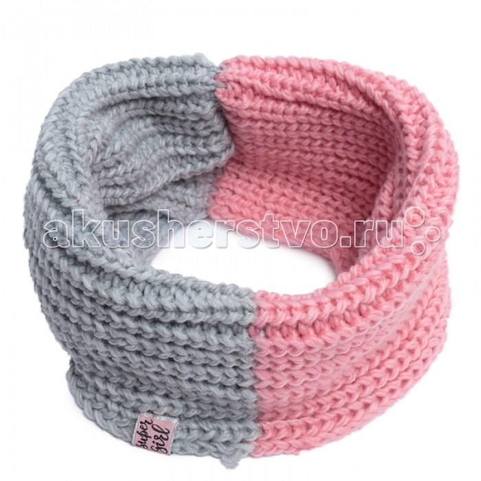 Варежки, перчатки и шарфы Playtoday Снуд для девочек Забавный кролик 188028 варежки  перчатки и шарфы jollein шарф confetti knit