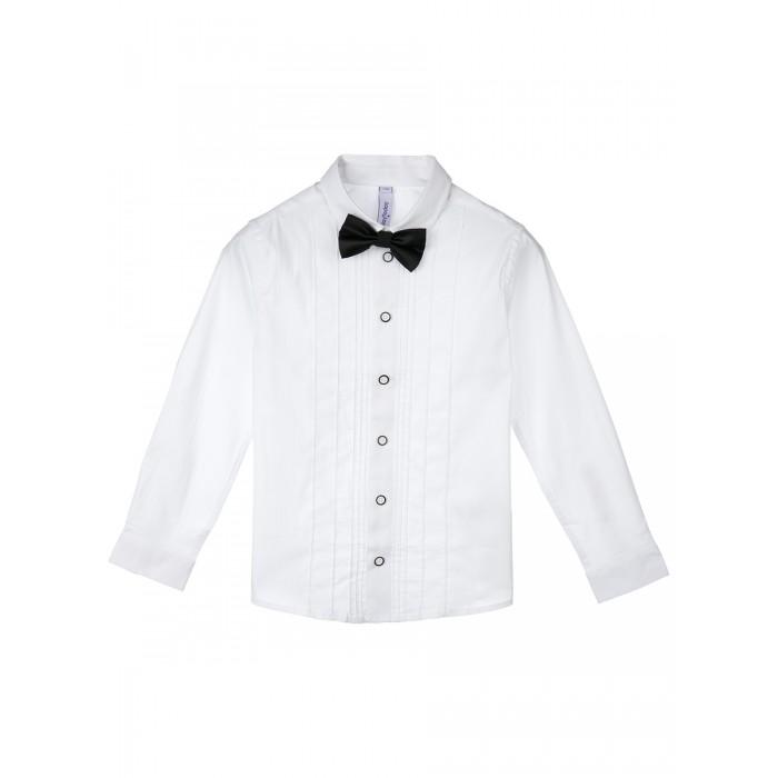Рубашки Playtoday Сорочка и бабочка для мальчика 42012022
