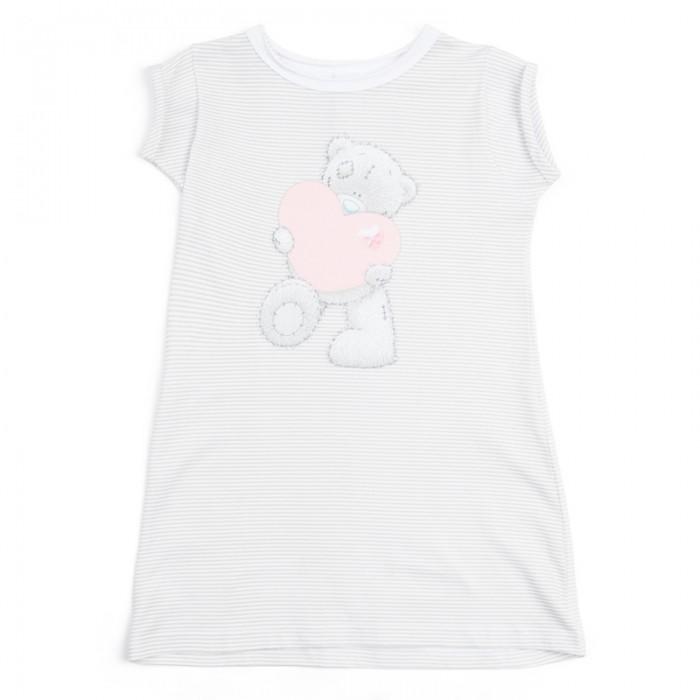 Пижамы и ночные сорочки Playtoday Сорочка ночная трикотажная для девочек Розовая дымка 686002 ночная сорочка quelle arizona 226493