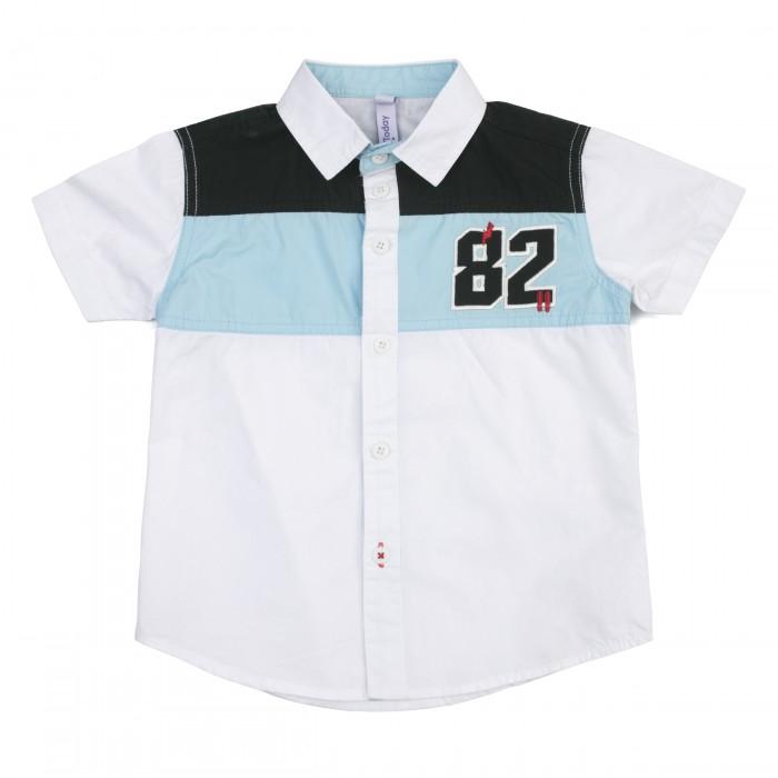 Рубашки Playtoday Сорочка текстильная для мальчиков Форсаж 181101