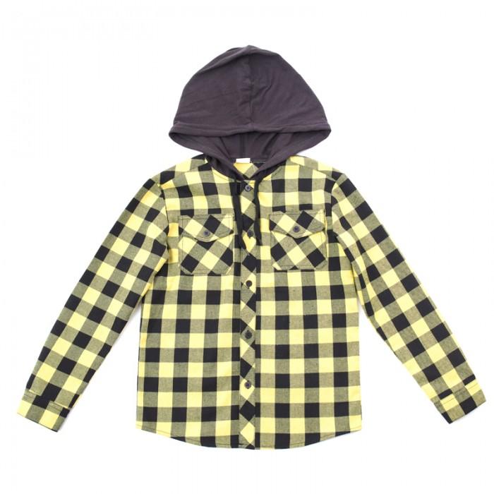 Блузки и рубашки Playtoday Сорочка текстильная для мальчиков Рок-звезда 181061, Блузки и рубашки - артикул:452329