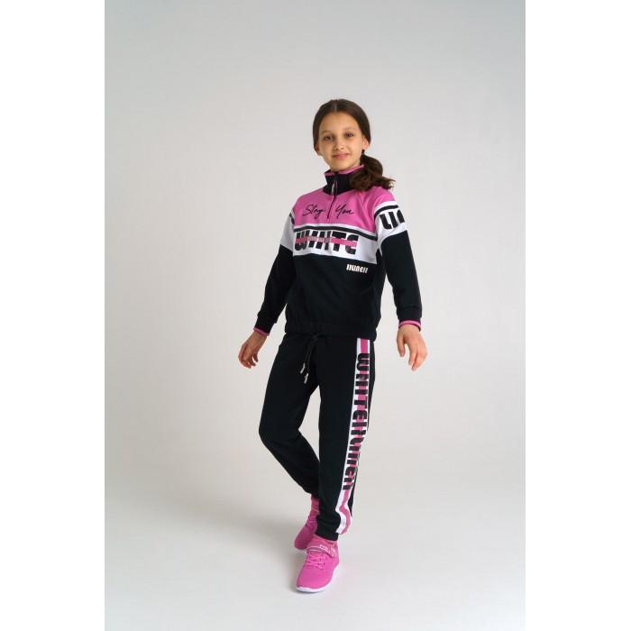 Playtoday Спортивный комплект толстовка и брюки для девочки 22127014