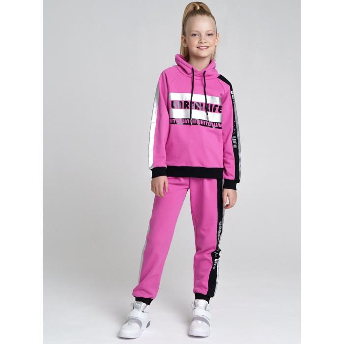 Playtoday Спортивный комплект толстовка и брюки для девочки 22127027