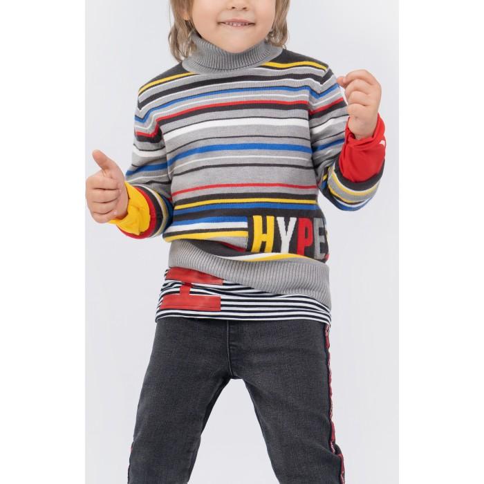 Картинка для Водолазки и лонгсливы Playtoday Свитер для мальчика Hype street 391065