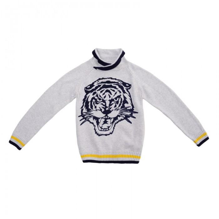 Джемперы, свитера, пуловеры Playtoday Свитер для мальчиков Каменные джунгли 381059, Джемперы, свитера, пуловеры - артикул:582656