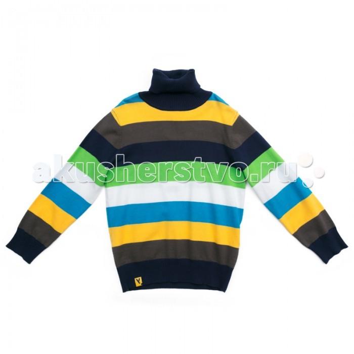 Детская одежда , Джемперы, свитера, пуловеры Playtoday Свитер трикотажный для мальчиков Космическое путешествие 371159 арт: 374394 -  Джемперы, свитера, пуловеры