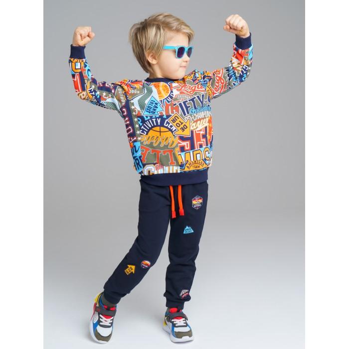 Толстовки и свитшоты Playtoday Свитшот для мальчика Adventure 120212012 свитшот playtoday playtoday mp002xg00pvv