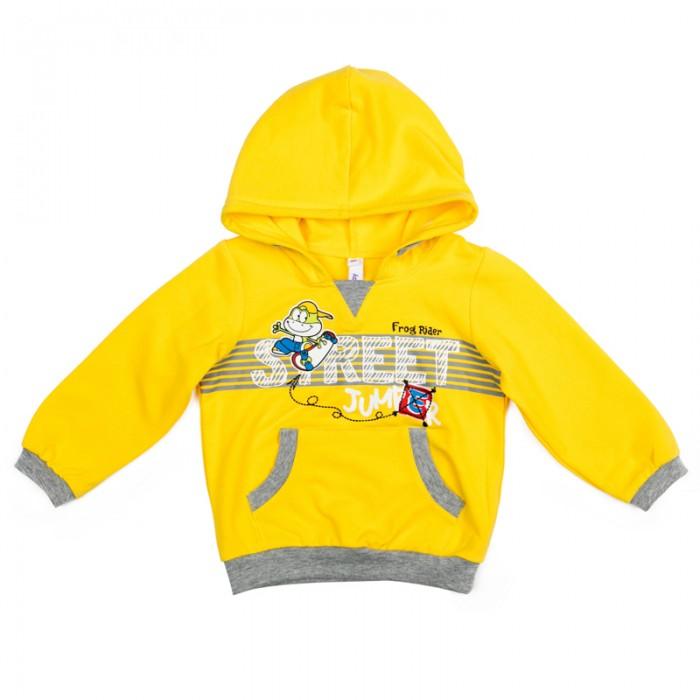 Толстовки, свитшоты, худи Playtoday Толстовка детская трикотажная для мальчиков Веселый алфавит 377019