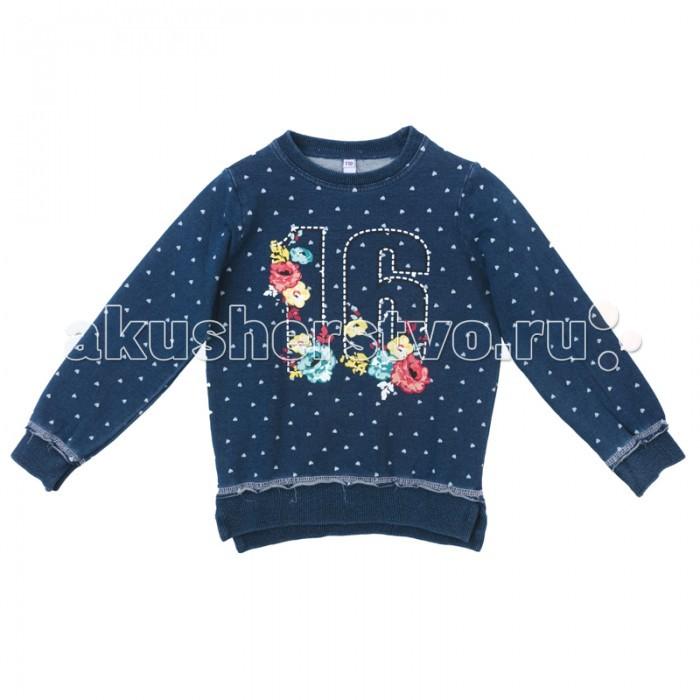 Детская одежда , Толстовки, свитшоты, худи Playtoday Толстовка для девочки Капель 172018 арт: 350560 -  Толстовки, свитшоты, худи