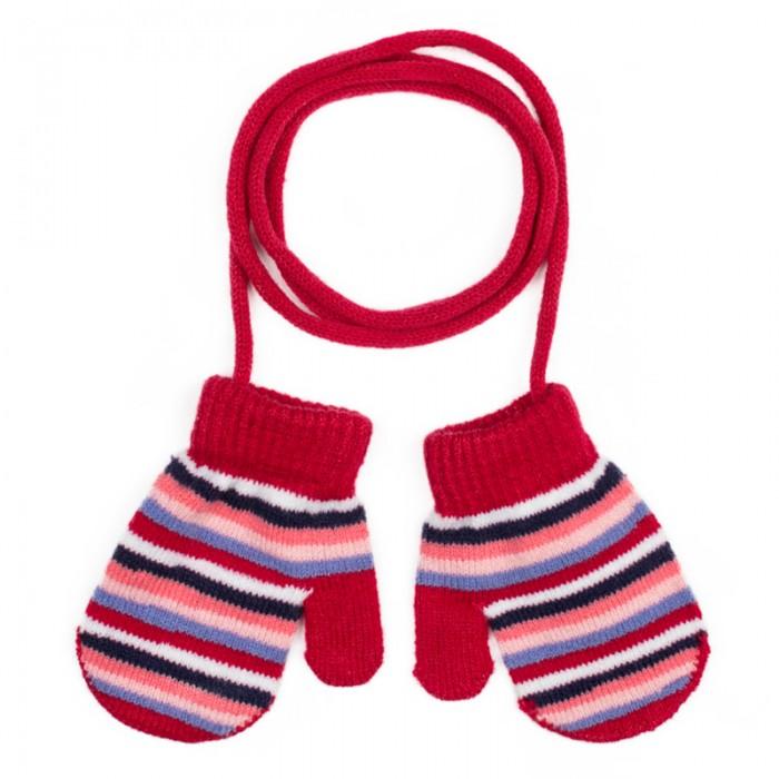 Шапки, варежки и шарфы Playtoday Варежки детские трикотажные для девочек Лучшие друзья 378041