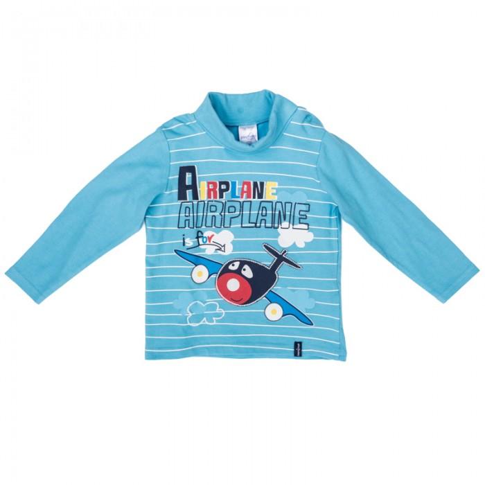 Водолазки и лонгсливы Playtoday Водолазка детская трикотажная для мальчиков Веселый алфавит 377023 водолазки анна чапман водолазка