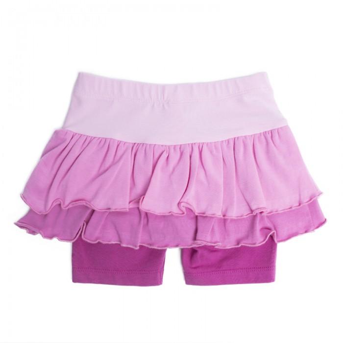 Юбки Playtoday Юбка-шорты детские трикотажные для девочек Солнечная палитра 188065