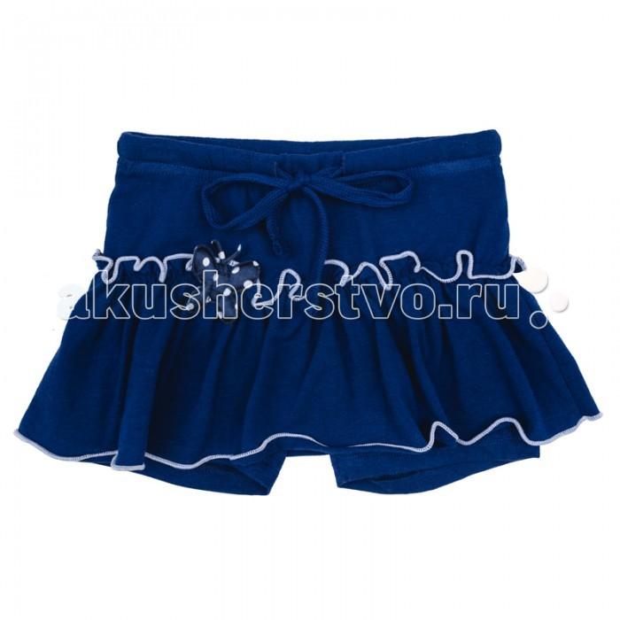 Юбки Playtoday Юбка-шорты для девочки Васильковое лето 172122 юбка для девочки ge520408 разноцветный gaialuna