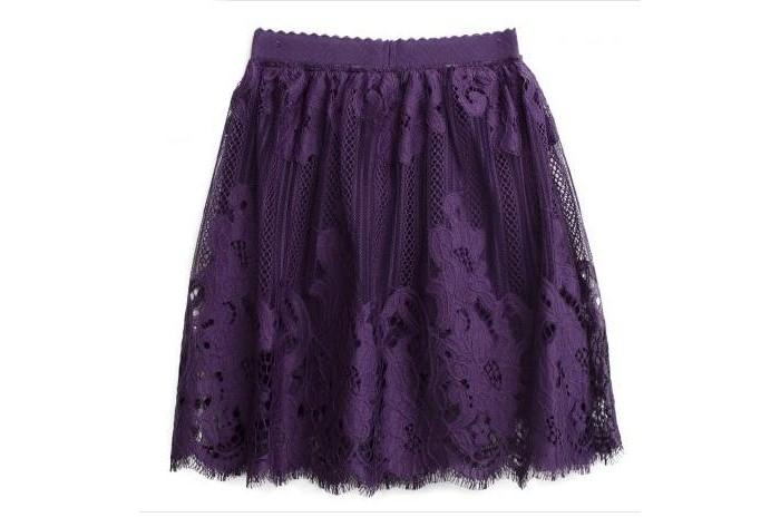 Playtoday Юбка текстильная для девочек Акварелька фото
