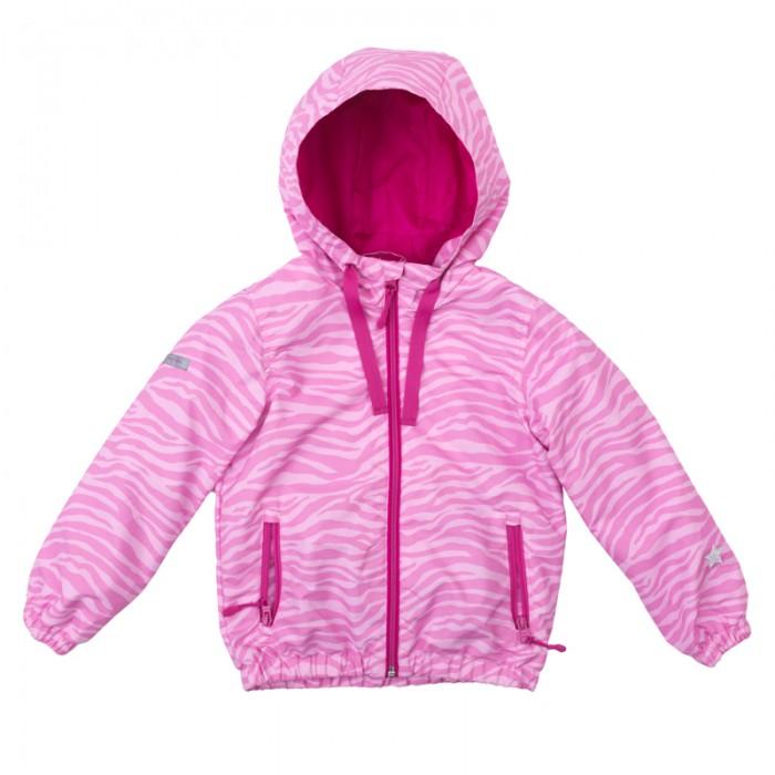 Playtoday Куртка для девочки Яркие штрихи 172055 фото